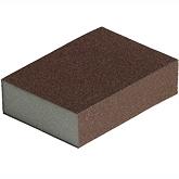 Губка шлифовальная Block ZF 98х69х26мм 36/60